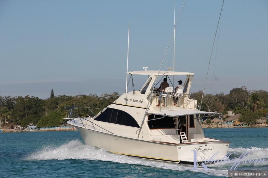 Яхта для морских прогулок в Пунта Кана.