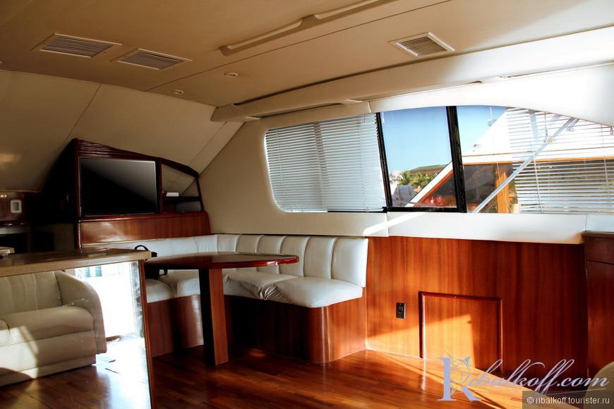 Салон яхты Фортуна