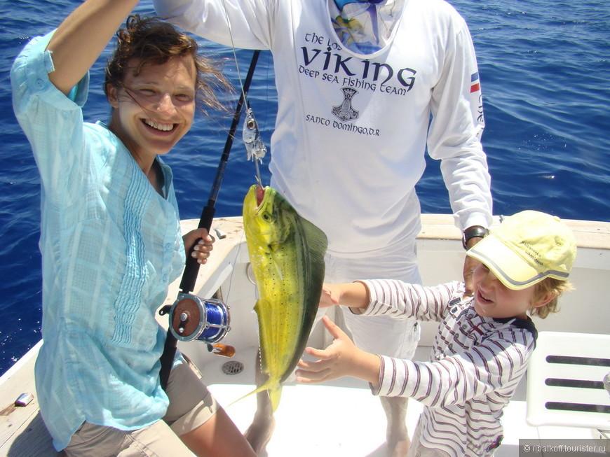 Семейная рыбалка Пунта Кана