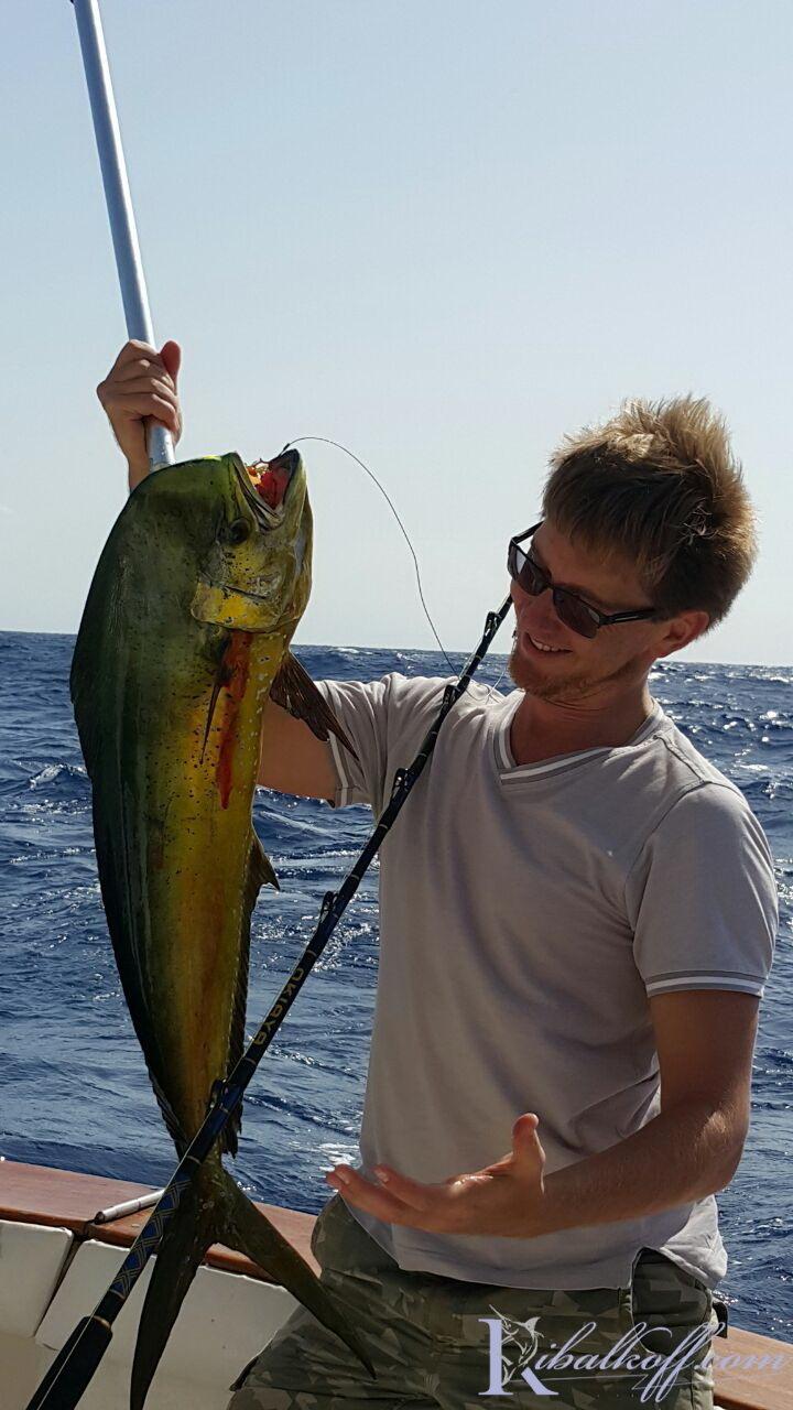 рыбалка на атлантике