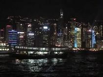 HONG KONG, VICTORIA HARBOUR (ГОНКОНГ, НАБЕРЕЖНАЯ ВИКТОРИЯ), 03:00