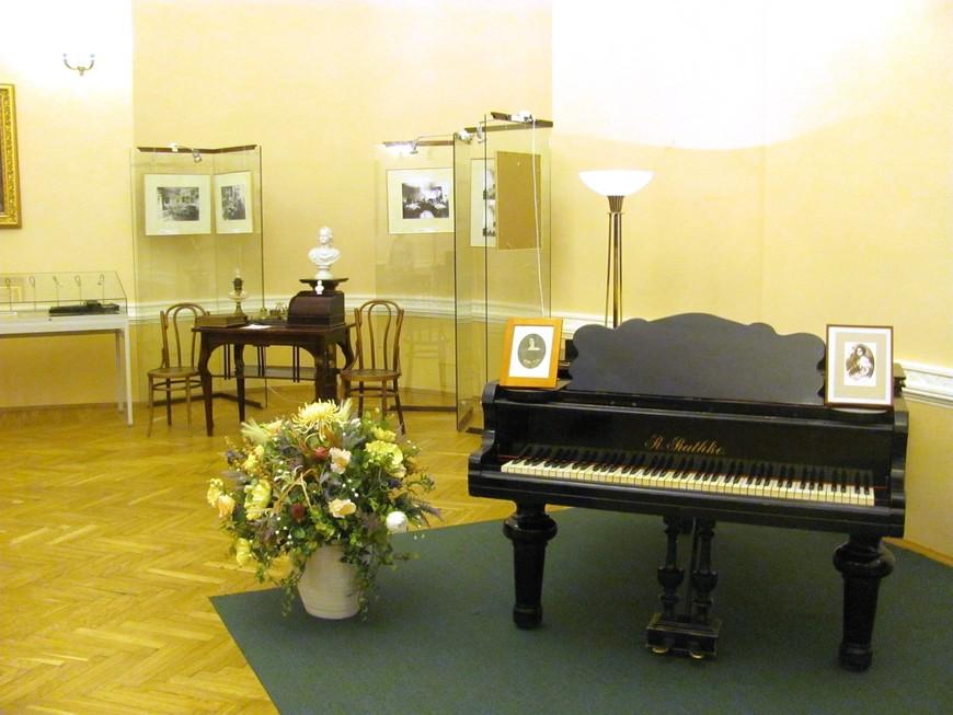 В музее Смольного института