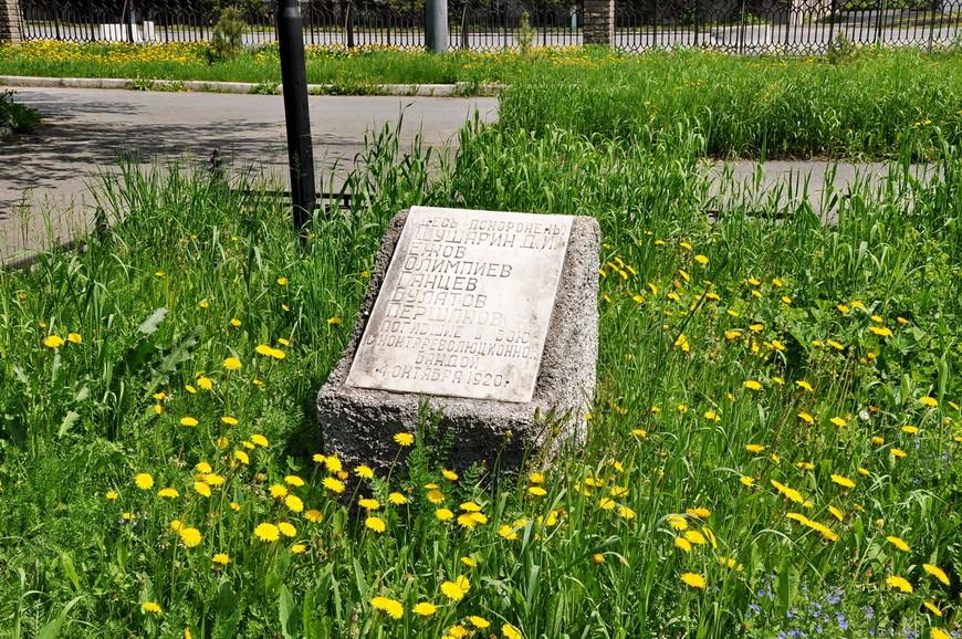 39. Людей похоронили прямо в центре города в палисаднике.