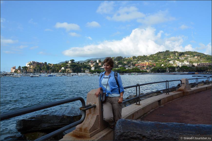 На набережной Венето.