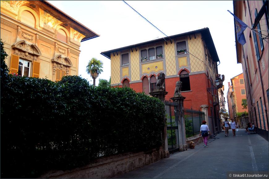 Элегантные виллы и палаццо Рапалло.
