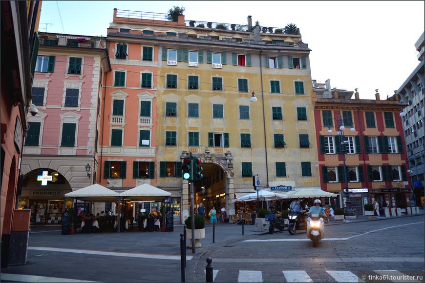 Мой отель Альберго Ла Пьяцетта