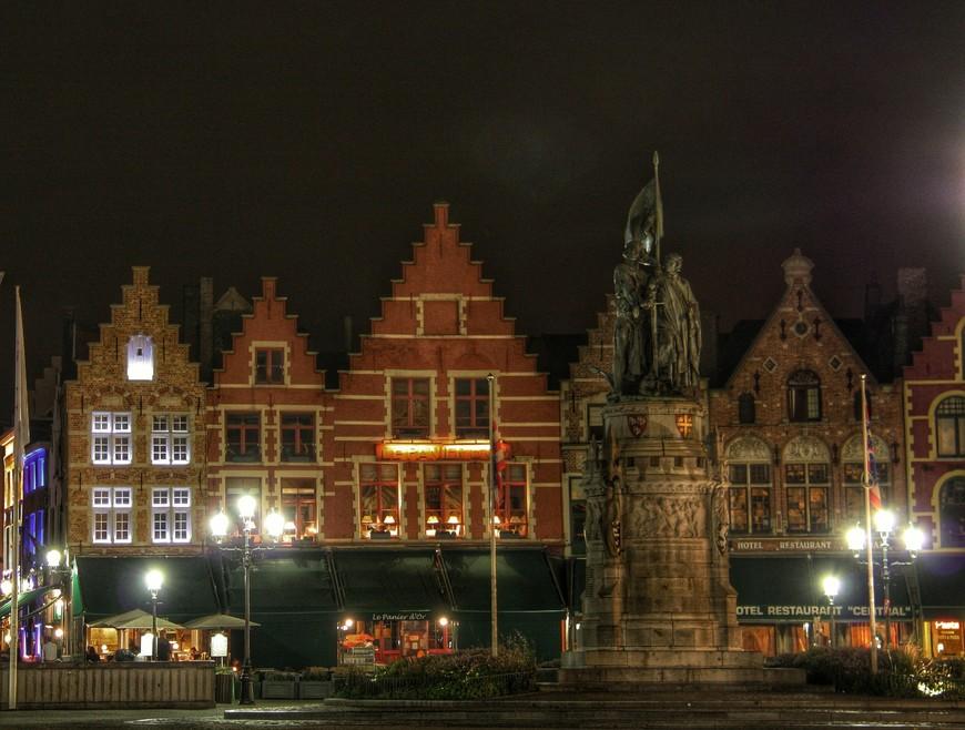 Рыночная площадь, с фасадами - магнитиками