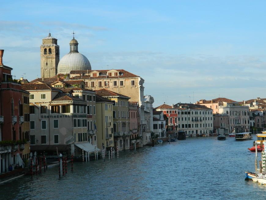 и совсем по-другому выглядит Венеция, когда её озаряют солнечные лучи