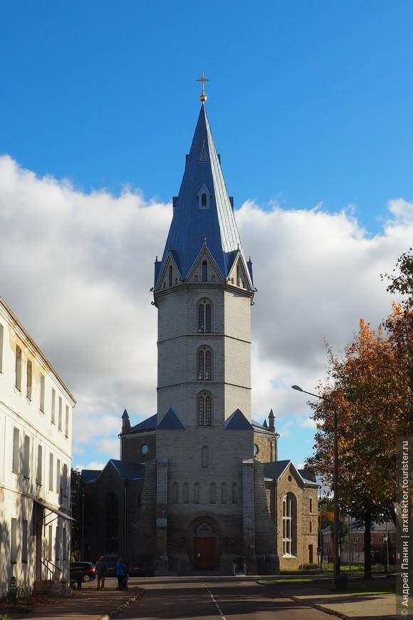 Александровская лютеранская церковь. Сейчас закрыта.