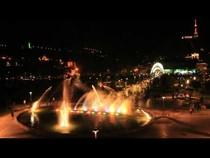 Поющий фонтан в Тбилиси., 00:38