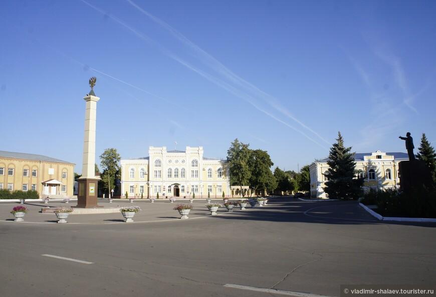 Богучар. Площадь Ленина.