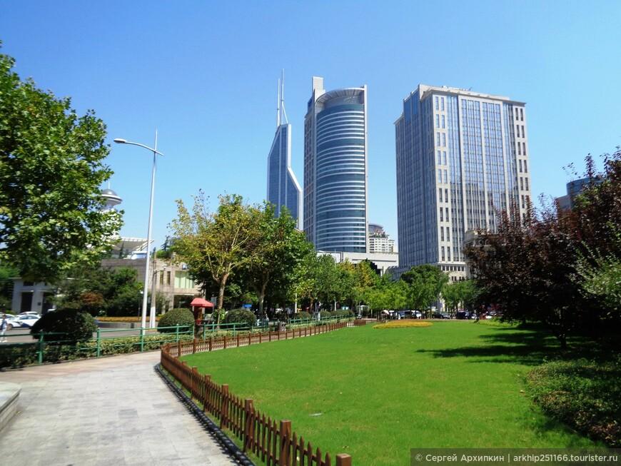 Народная площадь в Шанхае