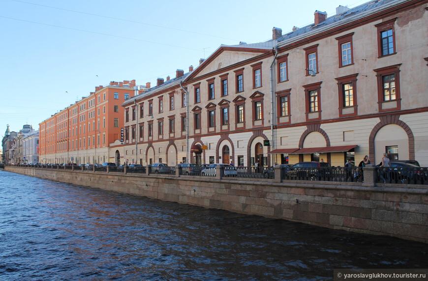 Канал Грибоедова очень уютный и красивый — именно таким он мне и запомнился.