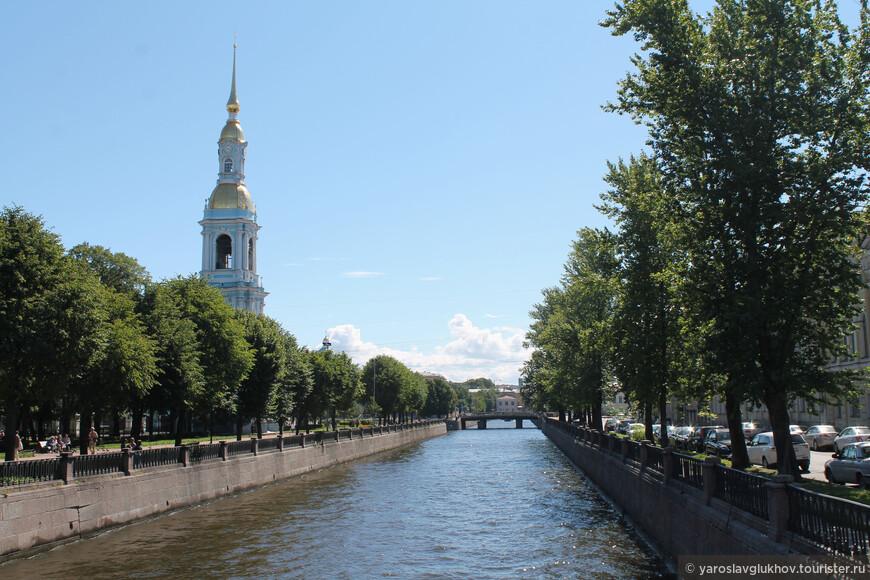 Колокольня Никольского Морского собора на Крюковом канале.