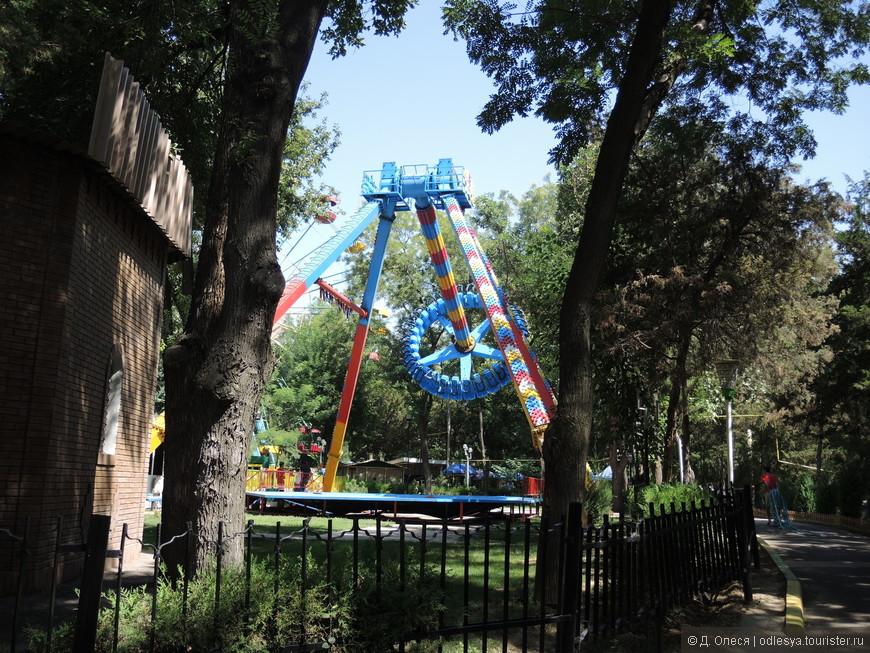 развлечения в парке Гафура Гуляма