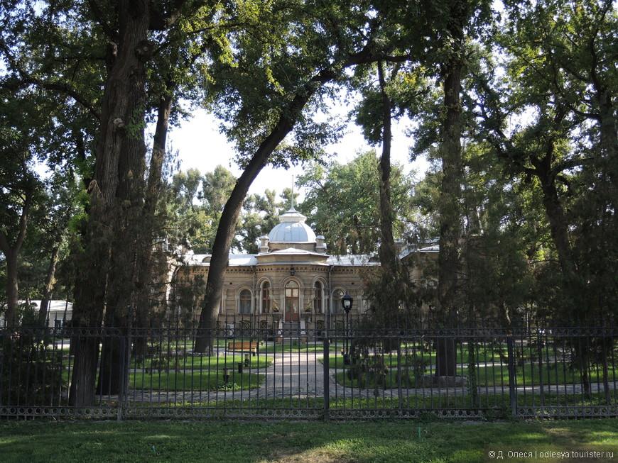 место приёма иностранных делегаций - бывшая резиденция князя Романова