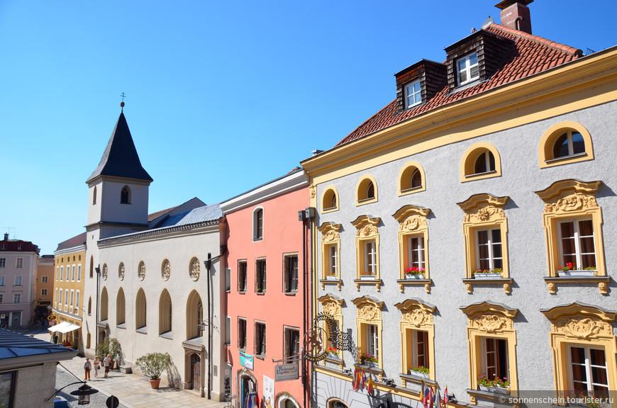 Вид на Скотный рынок с церкви Св. Павла.