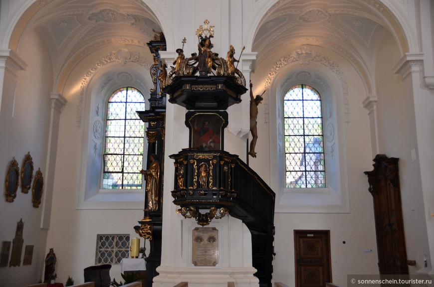 При пожаре 1680 года церковь не пострадала, в связи с этим тогдашний священник в знак благодарности высшим силам заказал картину в качестве вотива.