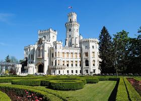 Глубока-над-Влтавой - Белый Замок