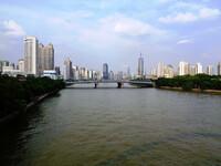 Гуанчжоу - его набережная на Жемчужной реке.