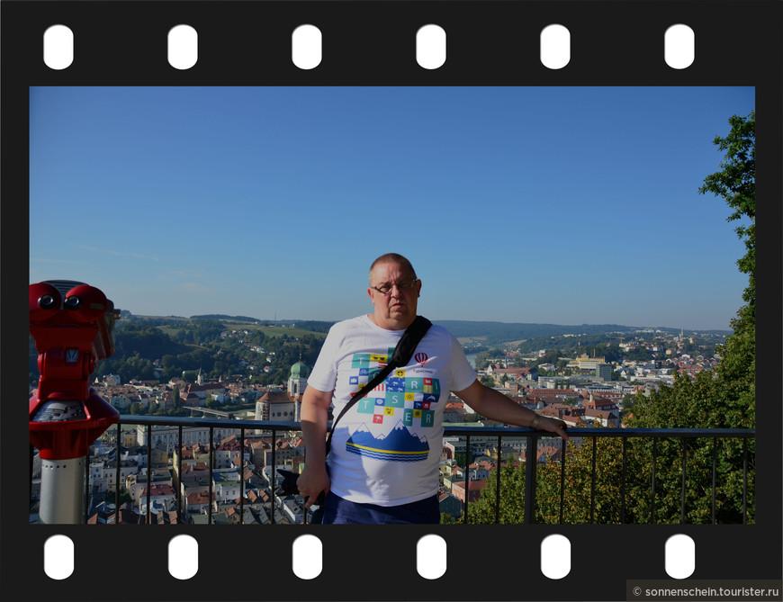 Чуть выше крепости находится смотровая площадка с которой открывается чудесный вид на город.
