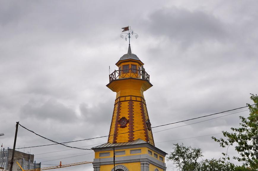 22. Одна из достопримечательностей Кургана – пожарная каланча 1882 года постройки.