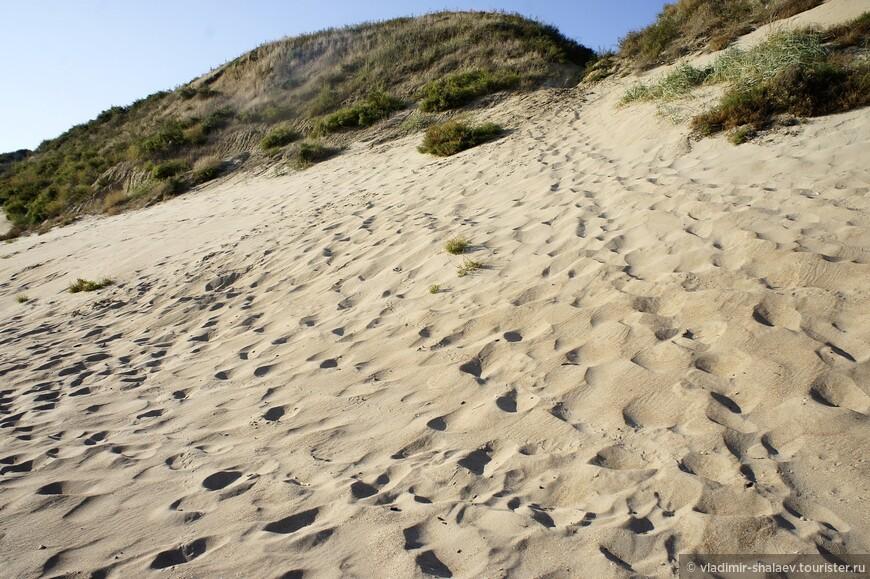 А вот такие пейзажи характерны скорее для Прибалтики, хотя и на Тамани их можно встретить в прибрежной полосе.