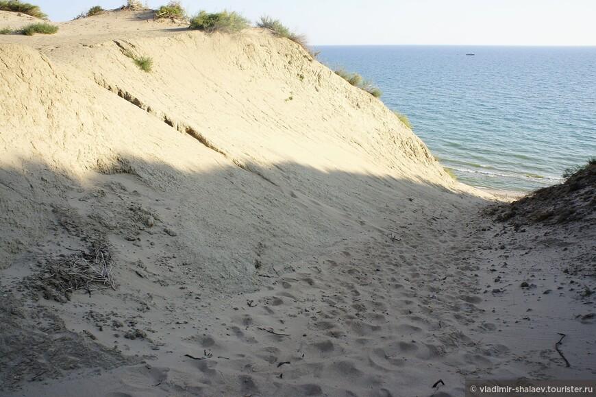 Дюны в районе Бугазской косы.