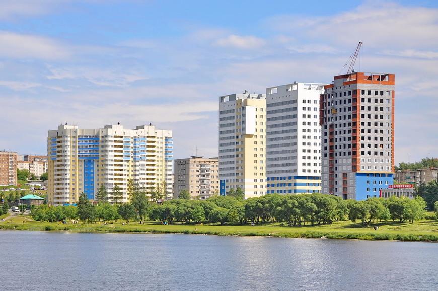 20. Непосредственная близость к Екатеринбургу позволили небольшому городу так выглядеть.