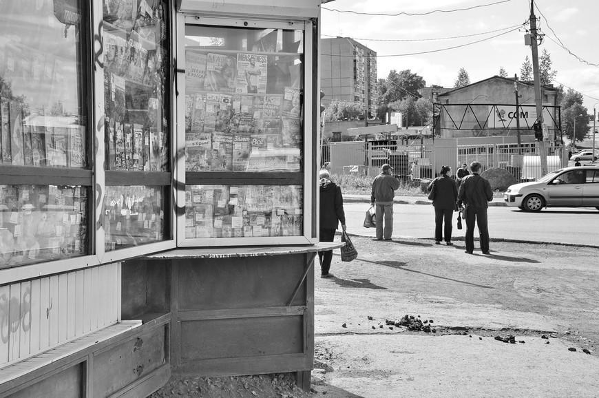 24. Все же не стоит забывать, что это небольшой уральский город, шайбы шайбами, а навоз на улице никто не отменял.