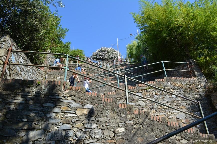 дорога к поселку Корнилья