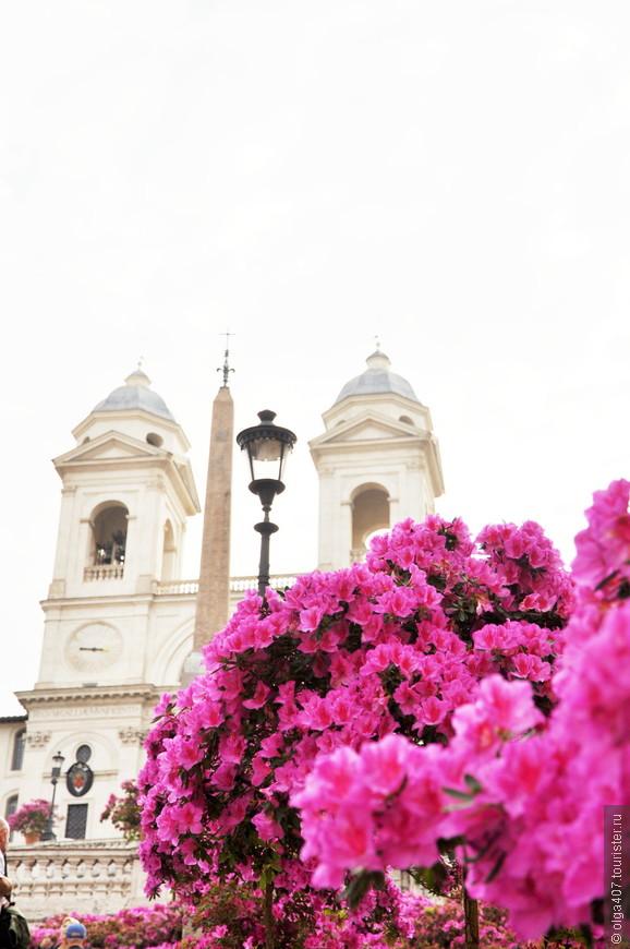 Площадь Испании ( Piazza di Spagna)