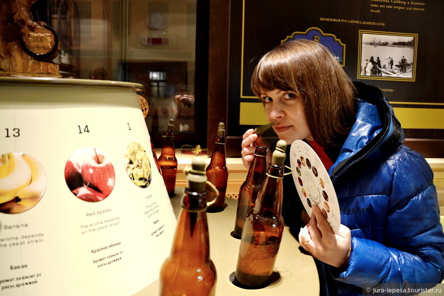 Отличный стенд.Угадываешь запах по рисунку и соответственно выбираешь пиво.
