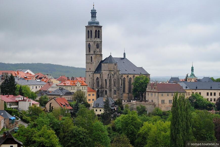 Вид от собора