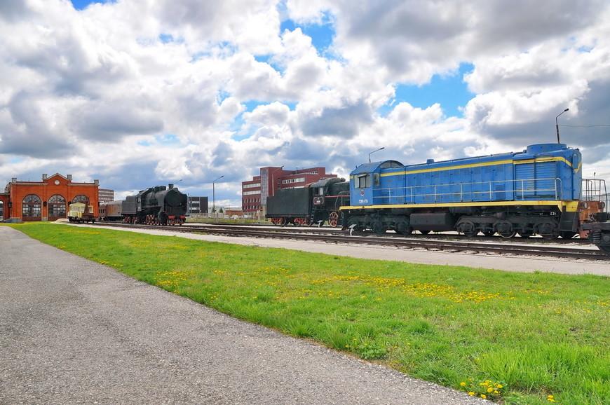 20. Перейдем к железнодорожной выставке музея, она тоже представлена в Тольятти.