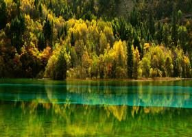 Цзючжайгоу, осень