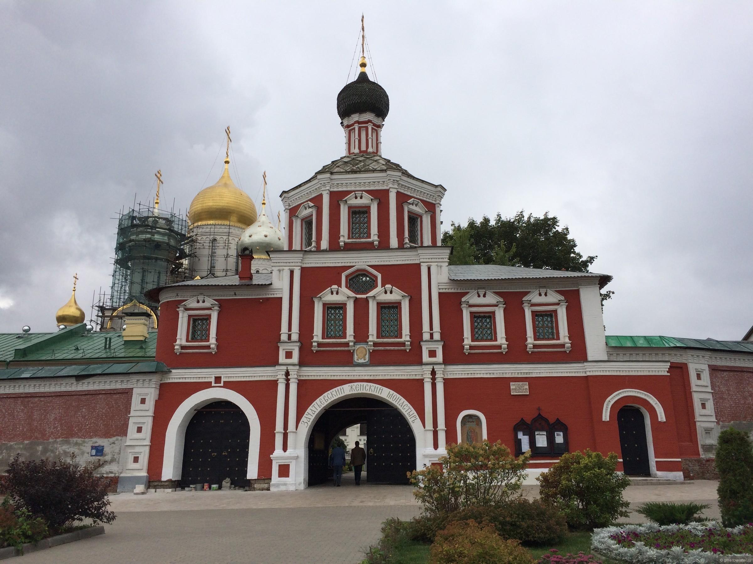одна другая где находится зачатьевский монастырь в москве фото кажущуюся сложность