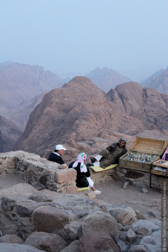 Отдых на вершине горы Моисея
