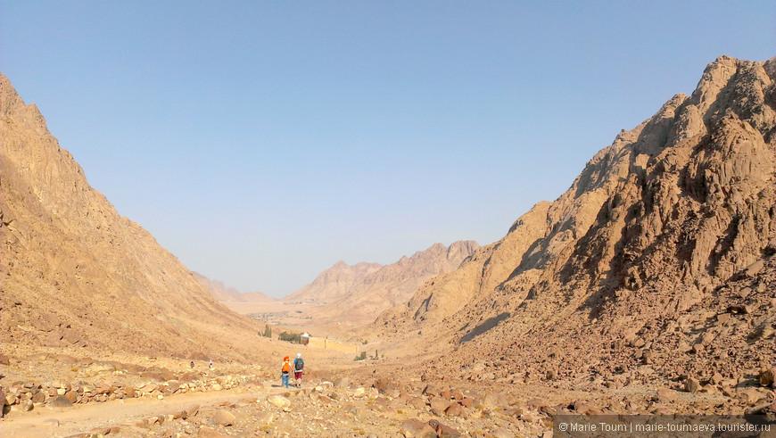 В горах Синая. На пути к монастырю Св.Екатерины