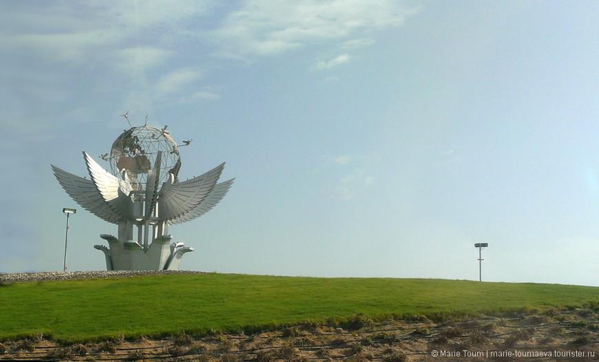 Инсталляция в Шарм-эль-Шейхе