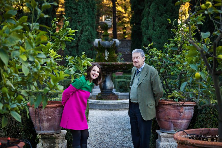 Сад Джусти и его хозяин