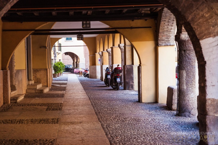средневековые улочки