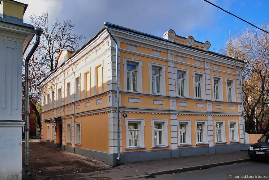 Усадьба Н. Г. Григорьева, 1-й Кадашевский пер., д. 10