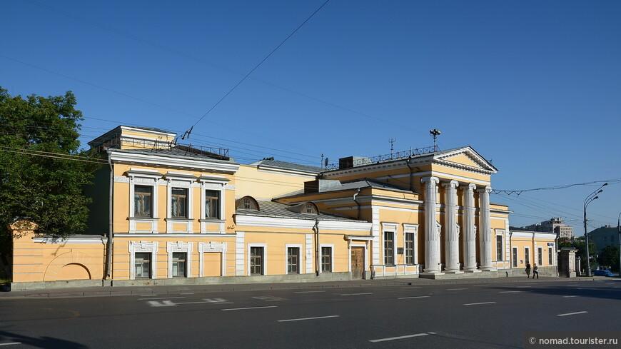 Усадьба Шаховских — Красильщиковой, ул. Моховая, д. 6