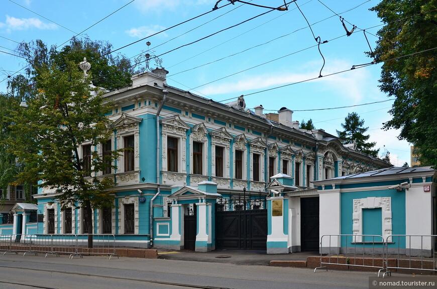 Особняк К. П. Бахрушина, Новокузнецкая ул, д. 27