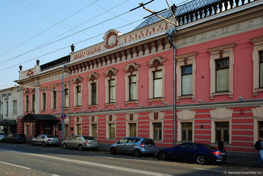 Дом графа С. П. Потёмкина, ул. Пречистенка, д.21