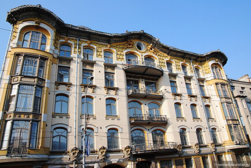 Доходный дом И. П. Исакова, ул. Пречистенка, д.28