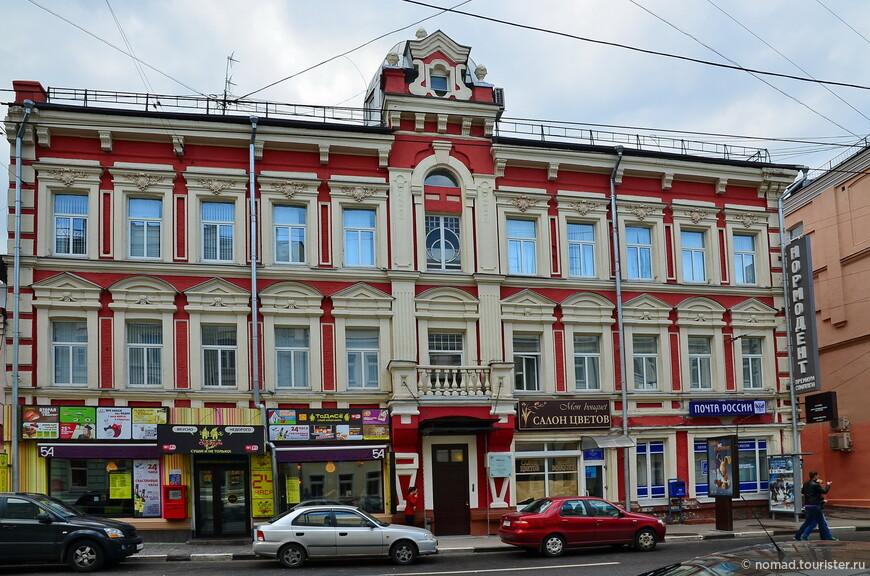 Доходный дом Н. Г. Давыдова, Пятницкая ул, д. 54