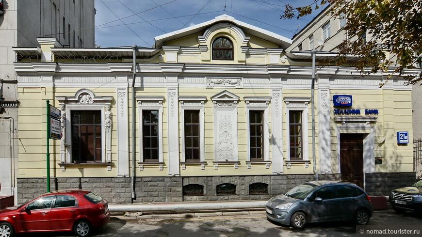 Дом И.И. Джамгарова, Рождественский бр, 21