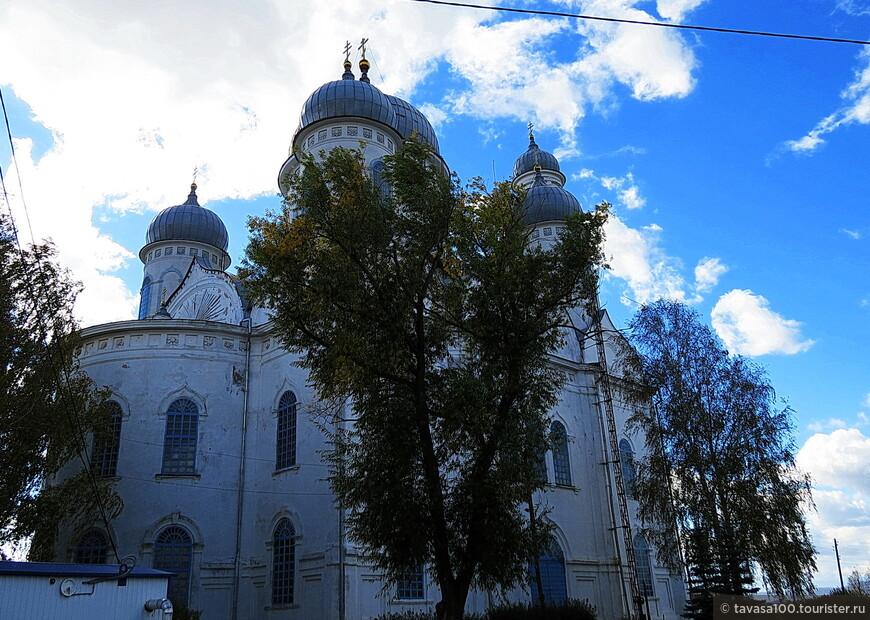 Церковь представляет собой большой пятикупольный четырёхстолпный кирпичный храм с многоярусной колокольней. Купола шлемовидной формы покрыты оцинкованным железом. Диаметр главного купола, поднятого на мощном цилиндрическом световом барабане, составляет 11 метров. Высота колокольни – 56 метров. Общая площадь Вознесенской церкви – 154 квадратных метра.